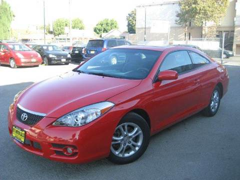 2008 Toyota Camry Solara for sale at CITY MOTOR SALES in San Francisco CA