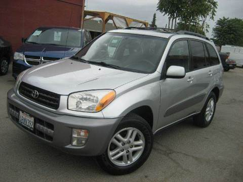 2001 Toyota RAV4 for sale at CITY MOTOR SALES in San Francisco CA