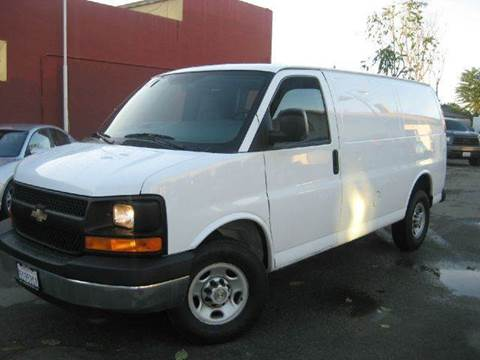 2008 Chevrolet Express Cargo for sale at CITY MOTOR SALES in San Francisco CA