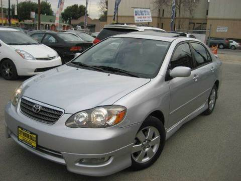 2007 Toyota Corolla for sale at CITY MOTOR SALES in San Francisco CA