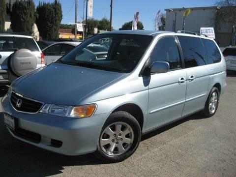 2003 Honda Odyssey for sale at CITY MOTOR SALES in San Francisco CA