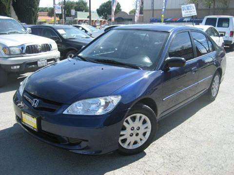 2005 Honda Civic for sale at CITY MOTOR SALES in San Francisco CA
