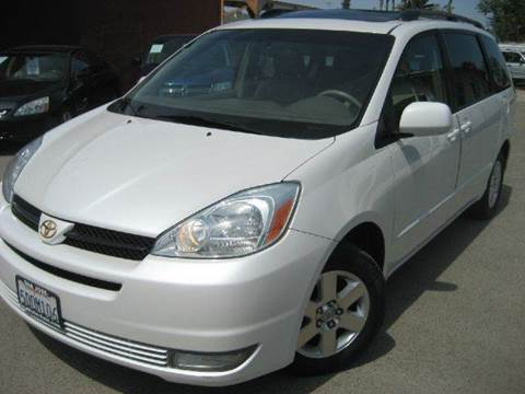 2004 Toyota Sienna for sale at CITY MOTOR SALES in San Francisco CA