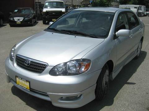2008 Toyota Corolla for sale at CITY MOTOR SALES in San Francisco CA