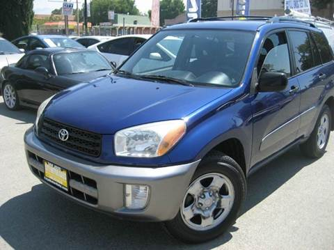 2002 Toyota RAV4 for sale at CITY MOTOR SALES in San Francisco CA