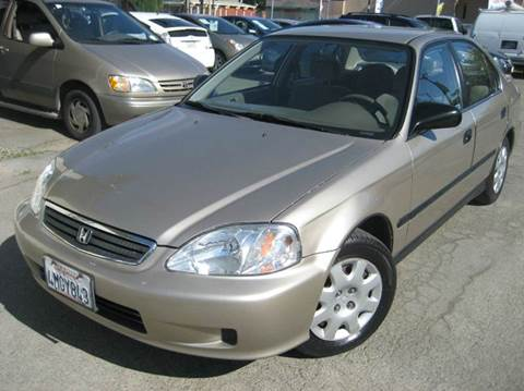 2000 Honda Civic for sale at CITY MOTOR SALES in San Francisco CA