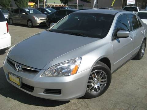 2006 Honda Accord for sale at CITY MOTOR SALES in San Francisco CA