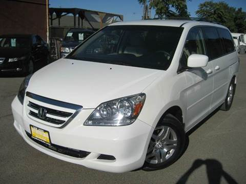 2007 Honda Odyssey for sale at CITY MOTOR SALES in San Francisco CA