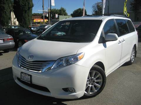 2012 Toyota Sienna for sale at CITY MOTOR SALES in San Francisco CA