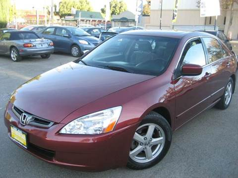 2003 Honda Accord for sale at CITY MOTOR SALES in San Francisco CA