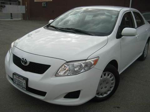 2009 Toyota Corolla for sale at CITY MOTOR SALES in San Francisco CA
