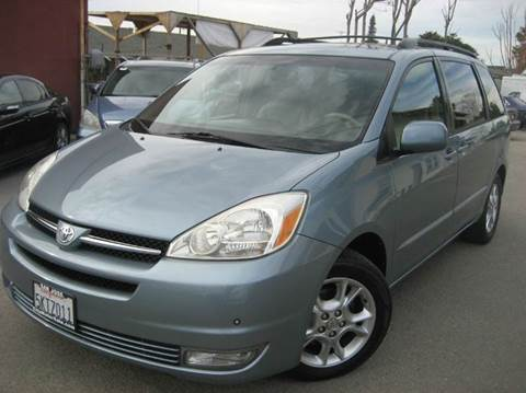 2005 Toyota Sienna for sale at CITY MOTOR SALES in San Francisco CA