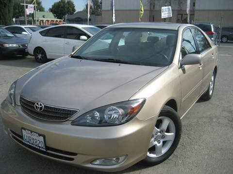 2002 Toyota Camry for sale at CITY MOTOR SALES in San Francisco CA