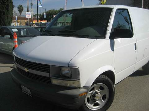 2004 Chevrolet Astro Cargo for sale at CITY MOTOR SALES in San Francisco CA