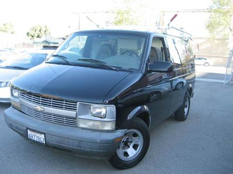 2001 Chevrolet Astro Cargo for sale at CITY MOTOR SALES in San Francisco CA