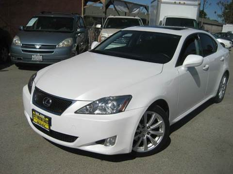 2008 Lexus IS 250 for sale at CITY MOTOR SALES in San Francisco CA