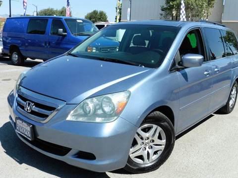 2006 Honda Odyssey for sale at CITY MOTOR SALES in San Francisco CA