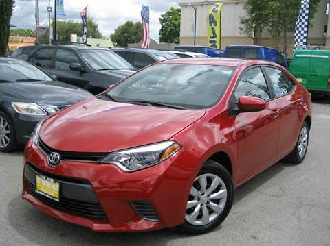 2015 Toyota Corolla for sale at CITY MOTOR SALES in San Francisco CA