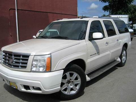 2005 Cadillac Escalade ESV for sale at CITY MOTOR SALES in San Francisco CA
