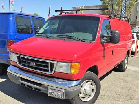 2007 Ford E-Series Cargo for sale at CITY MOTOR SALES in San Francisco CA