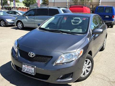 2010 Toyota Corolla for sale at CITY MOTOR SALES in San Francisco CA