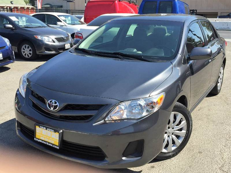 2013 Toyota Corolla for sale at CITY MOTOR SALES in San Francisco CA
