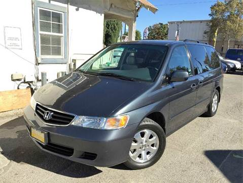 2004 Honda Odyssey for sale at CITY MOTOR SALES in San Francisco CA