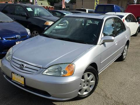 2002 Honda Civic for sale at CITY MOTOR SALES in San Francisco CA