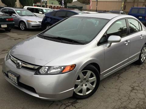 2007 Honda Civic for sale at CITY MOTOR SALES in San Francisco CA