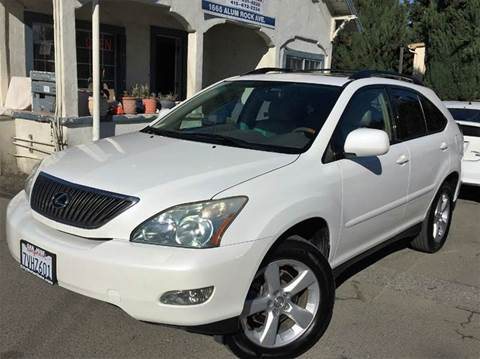 2004 Lexus RX 330 for sale at CITY MOTOR SALES in San Francisco CA