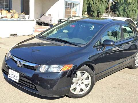2008 Honda Civic for sale at CITY MOTOR SALES in San Francisco CA