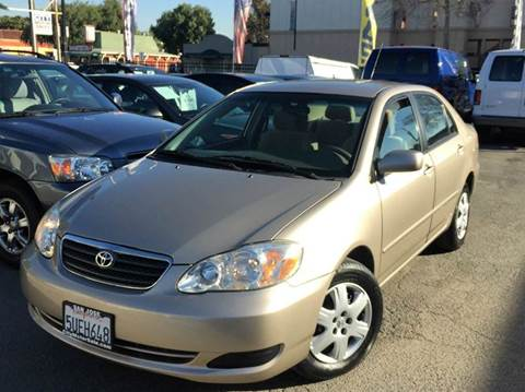 2006 Toyota Corolla for sale at CITY MOTOR SALES in San Francisco CA
