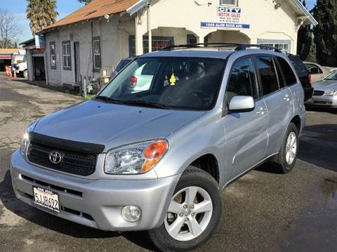 2005 Toyota RAV4 for sale at CITY MOTOR SALES in San Francisco CA