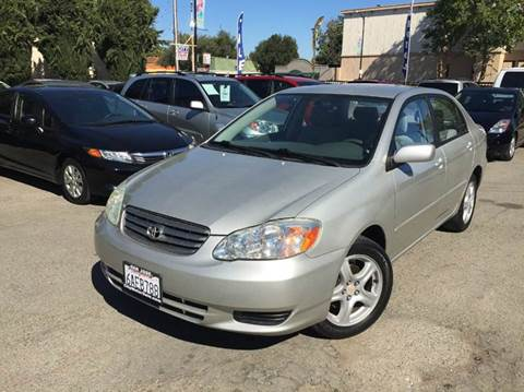 2003 Toyota Corolla for sale at CITY MOTOR SALES in San Francisco CA