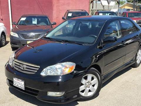 2004 Toyota Corolla for sale at CITY MOTOR SALES in San Francisco CA