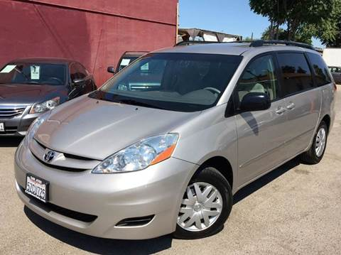 2007 Toyota Sienna for sale at CITY MOTOR SALES in San Francisco CA