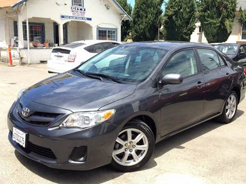 2011 Toyota Corolla for sale at CITY MOTOR SALES in San Francisco CA