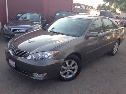 2005 Toyota Camry for sale at CITY MOTOR SALES in San Francisco CA