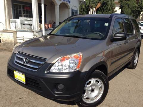 2006 Honda CR-V for sale at CITY MOTOR SALES in San Francisco CA