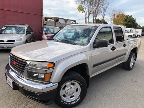 2005 GMC Canyon for sale at CITY MOTOR SALES in San Francisco CA