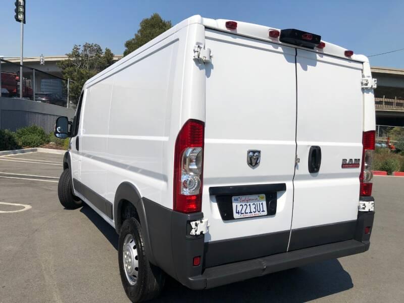 2015 RAM ProMaster Cargo 1500 136 WB 3dr Low Roof Cargo Van - San Francisco CA