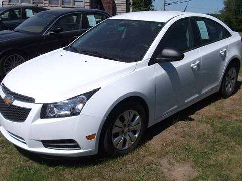 2014 Chevrolet Cruze for sale in Claremont, NH