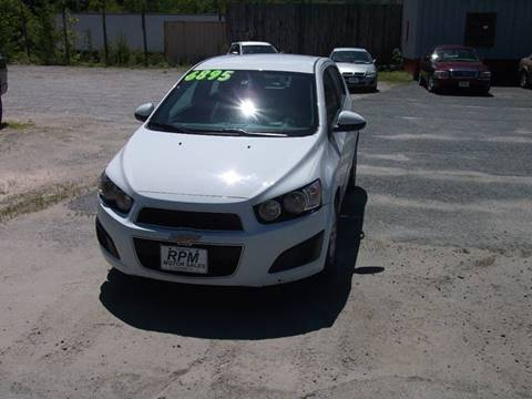 2014 Chevrolet Sonic for sale in Claremont, NH