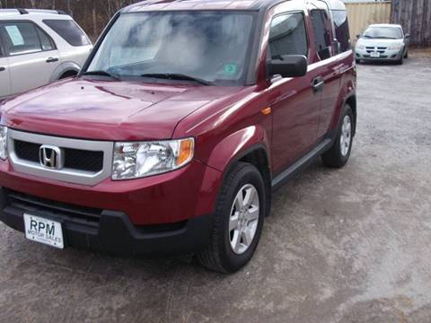2011 Honda Element for sale at RPM MOTOR SALES in Claremont NH