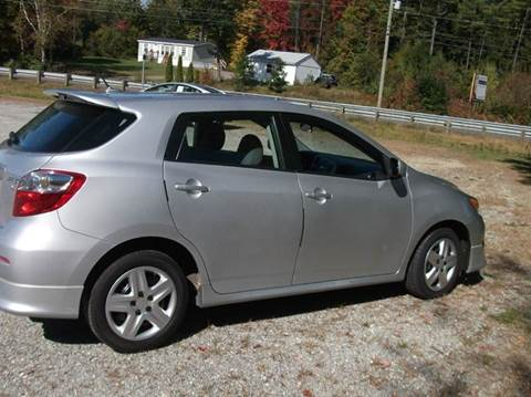 2010 Toyota Matrix for sale at RPM MOTOR SALES in Claremont NH