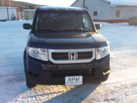 2010 Honda Element for sale at RPM MOTOR SALES in Claremont NH