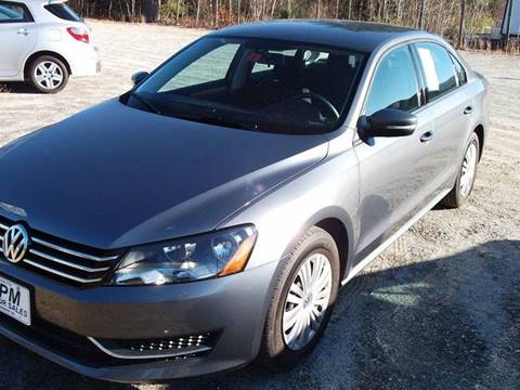 2014 Volkswagen Passat for sale in Claremont, NH