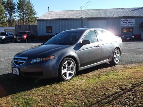 2006 Acura TL for sale at RPM MOTOR SALES in Claremont NH