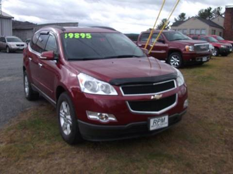 2010 Chevrolet Traverse for sale in Claremont, NH
