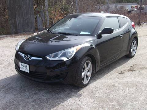 2012 Hyundai Veloster for sale at RPM MOTOR SALES in Claremont NH